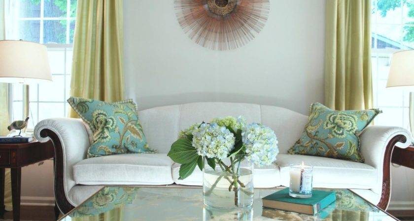 Furnishing Small Apartment Turquoise Color Blue