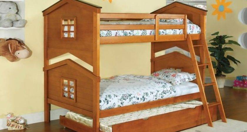 Furniture America Tree House Piece Twin Over