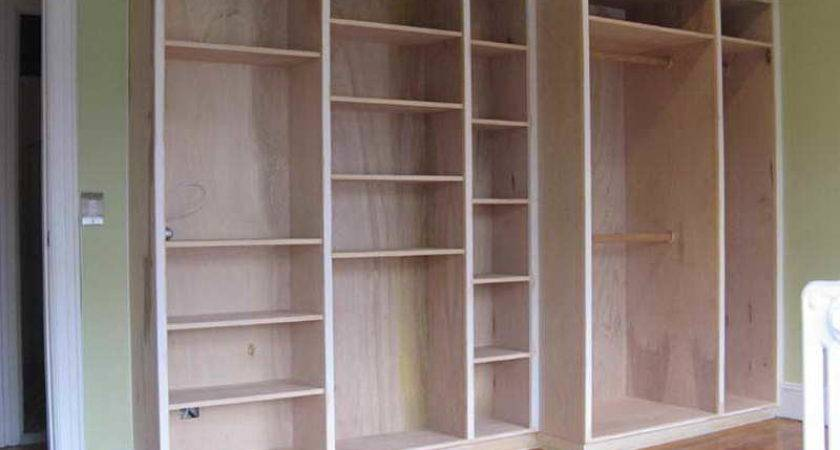 Furniture Built Bookcase Plans Molding Build Corner