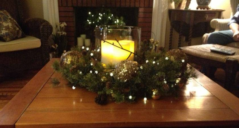 Furniture Christmas Decoration Light Candle Clear