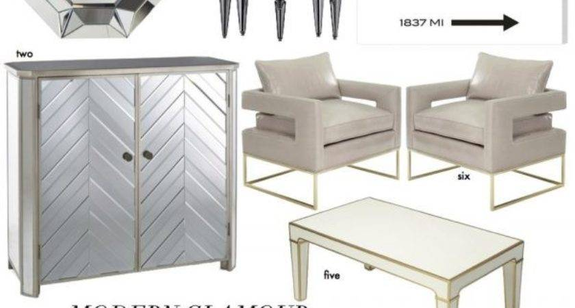 Furniture Design Modern Glamour