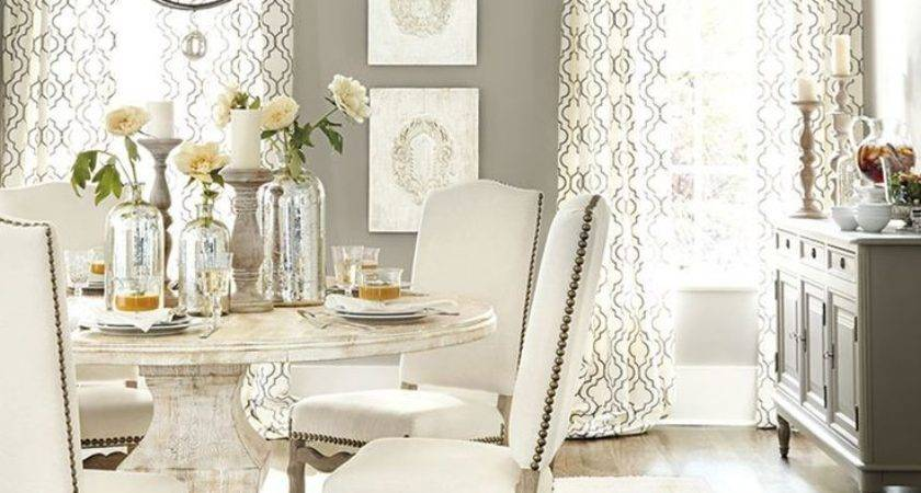 Furniture Dining Room Beach Style White