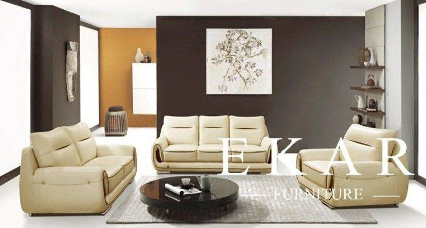 Furniture Living Room Sofa Set Modern Wood Luxury