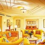Furniture Yellow Living Room Best Cars