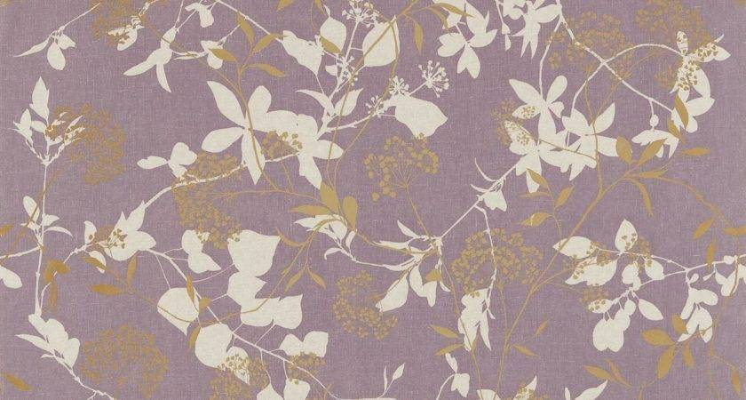 Fusion Fabric Amethyst Gold Neutral Harlequin
