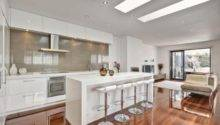 Galley Kitchen Design Island Horner