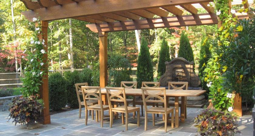 Garden Arbors Pergolas Designs Sisson Landscapes