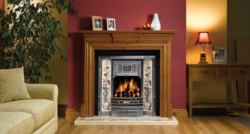 Gazco Classic Victorian Tiled Convector Fireplace