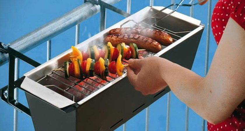 Get Your Balcony Meet Grill Its Dreams