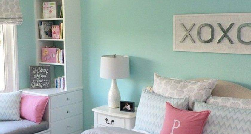 Girl Bedroom Wall Color Ideas Home Interior Designing