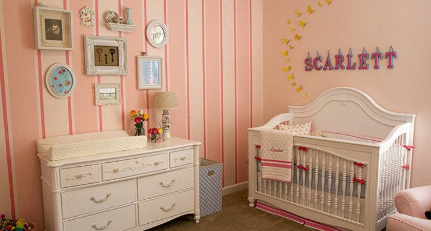 Girl Nurseries Inspire Decoholic