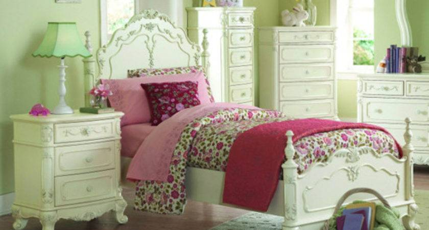 Girls Bedroom Furniture White Wonderful