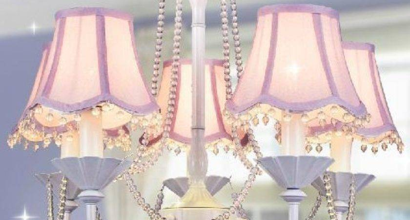 Girls Chandelier Bedroom