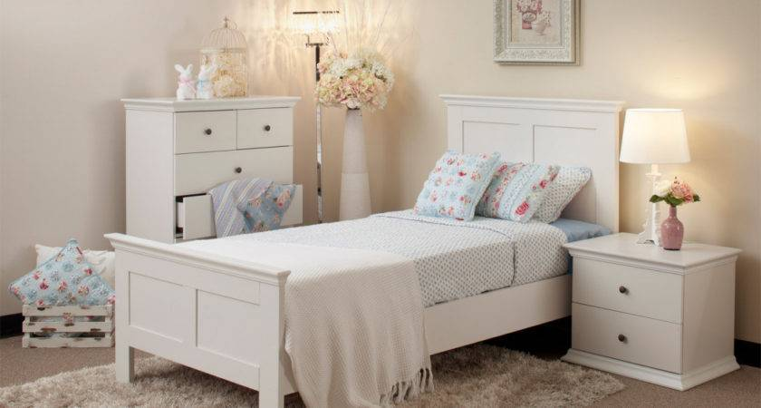 Girls Cream Bedroom Furniture Vintage Inspired
