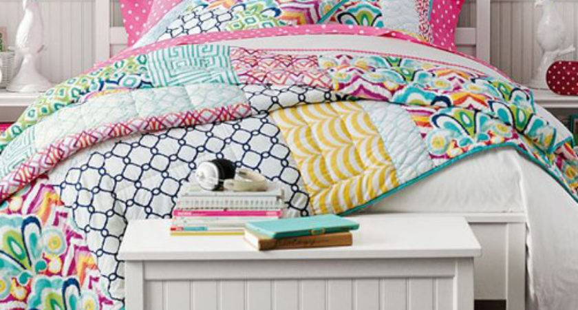 Girls Patchwork Quilt Palm Springs