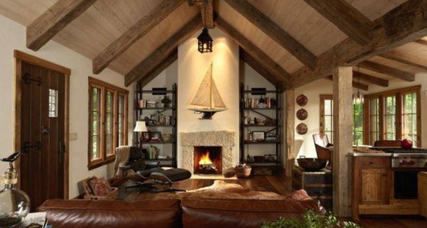 Give Your Home Cozy Cabin Feel Winter