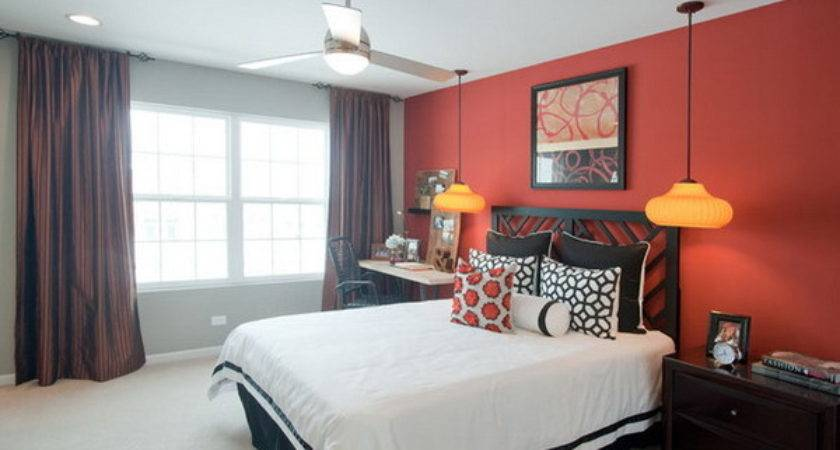Glam Red Your Bedroom Decorating Ideas Home