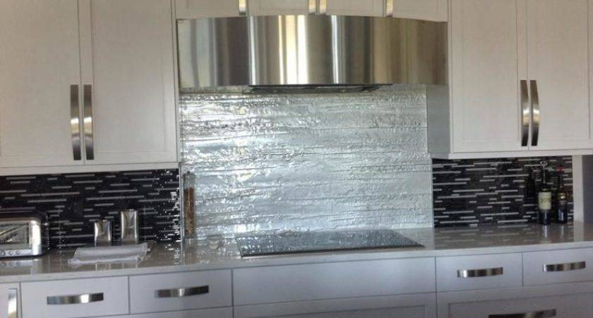 Glass Backsplash Kitchen Tile Ideas