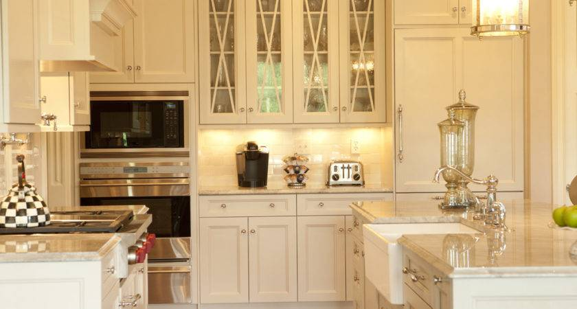 Glass Cabinet Doors Kitchen Farmhouse Apron Sink