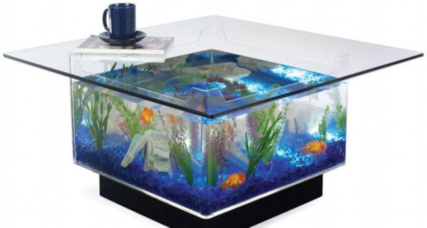 Glass Side Tables Bedroom Fish Tank Kitchen Table