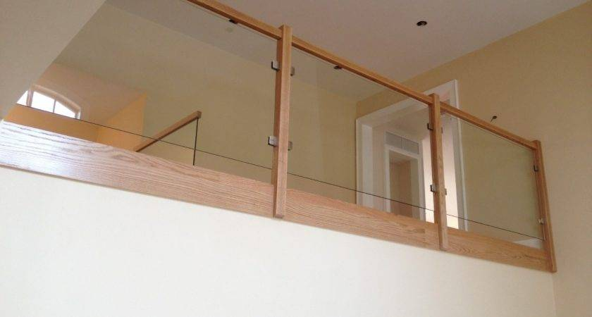 Glass Stair Railings Types Railing Stairs Kitchen