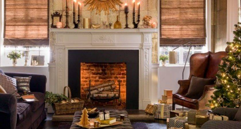 Gold Brown Living Room Ideas