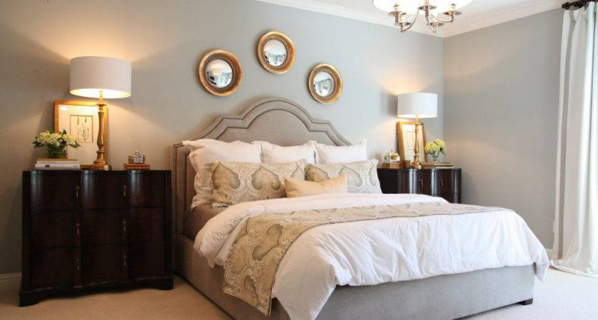 Gold Grey Bedroom Ideas Small Bedrooms Makeover