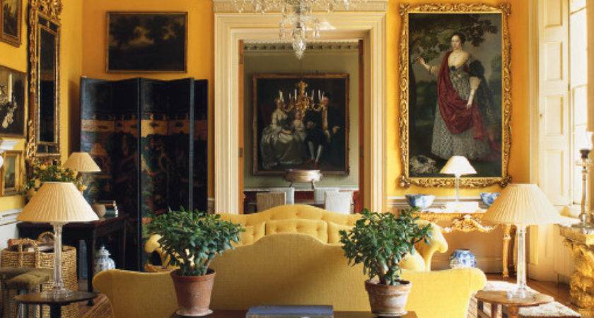 Golden Yellow Room Unknown Source Via Tumblr World