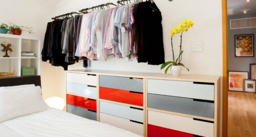 Gorgeous Clothes Storage Ideas Contemporary Bedroom