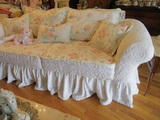 Gorgeous Shabby Chic Sofa Covers