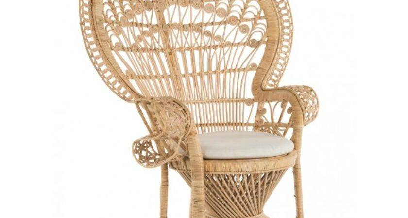 Grand Peacock Chair Rattan Natural Color