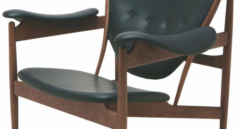Grande Black Leather Lounger Chair Nuevo Coleman