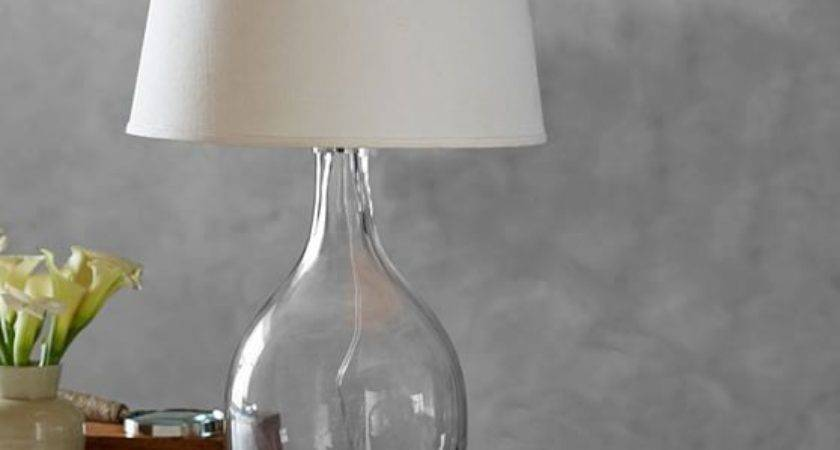 Grant Glass Table Lamp Pottery Barn