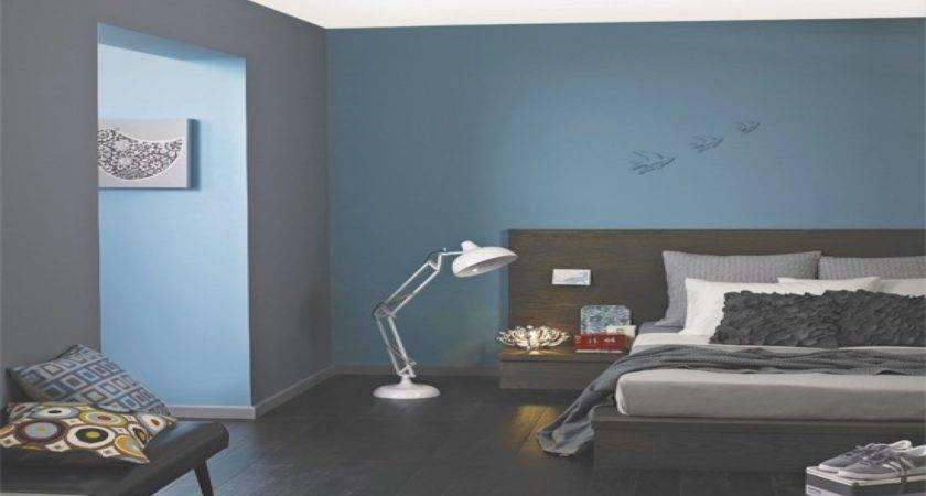 Gray Blue Bedroom Grey Walls Tiffany
