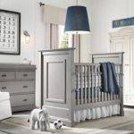 Gray Blue Boys Nursery Design Elephant Themes