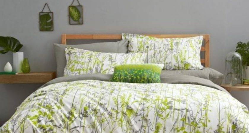 Gray Green Bedding Total Fab Lime