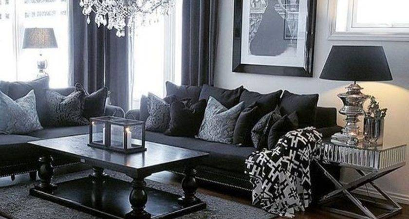 Gray Living Room Furniture Show Rooms Grey Couches