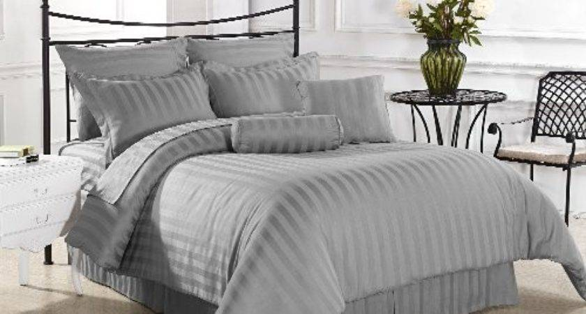 Gray Themed Bedroom Decor Grey Bedding Comforter Sets