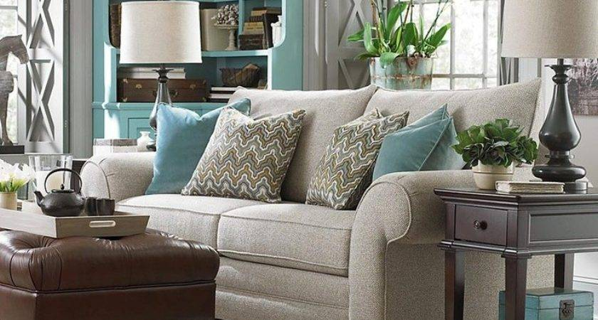 Gray Turquoise Living Room Grey