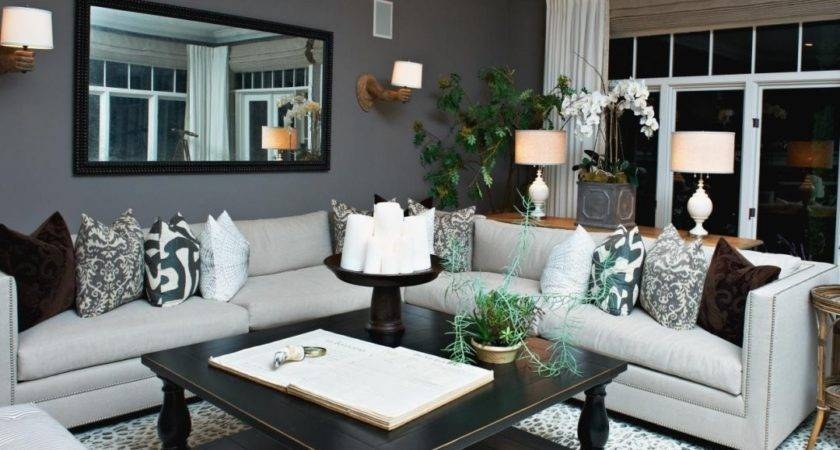 Gray White Living Room Ideas Color Furniture Goes