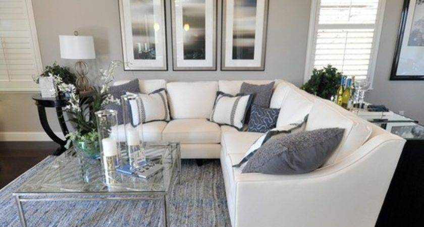 Gray White Living Room Photos