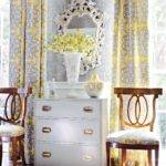 Gray Yellow Living Room Curtains Hgtv