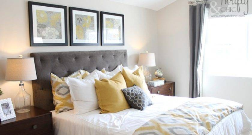 Gray Yellow Teal Bedroom Review Design