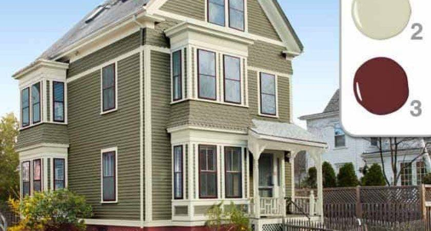 Great Color Combinations Painting Exterior Houses