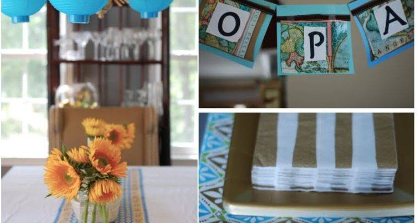 Greek Party Decoration Ideas