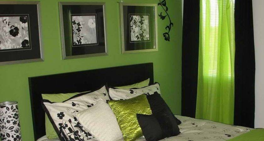 24 Spectacular Green And Black Room Ideas Homes Decor