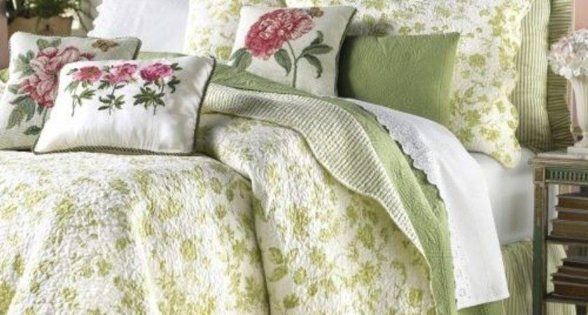 Green Cottage Brighton Toile Coverlet