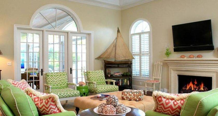 Green Living Room Ideas Your Dream Home Orange Lime