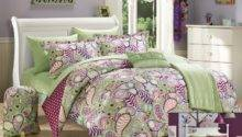 Green Purple Bedding Sets