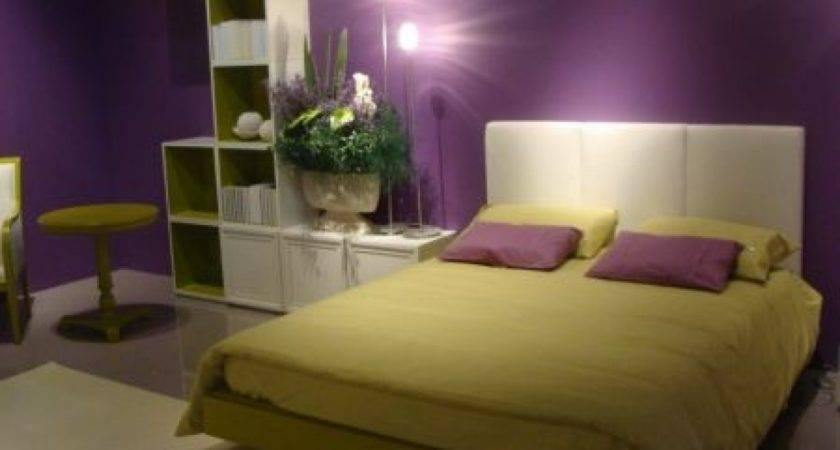 Green Purple Room Decorating